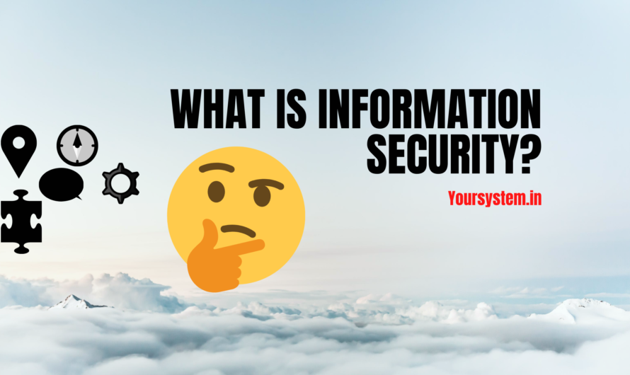 What is Informtion security?