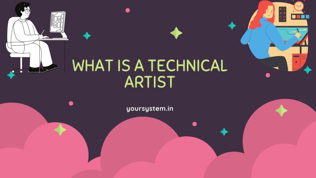 technical artist
