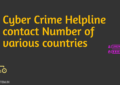 cyber crime helpline contact number